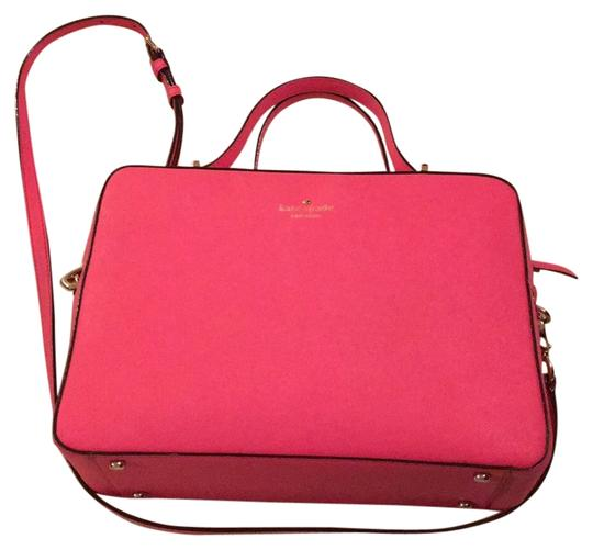 Preload https://item1.tradesy.com/images/kate-spade-purse-pink-leather-satchel-10413730-0-1.jpg?width=440&height=440