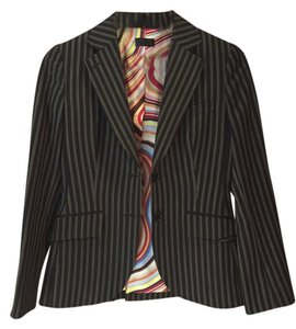 Paul Smith Black w/ Tan Stripe Blazer