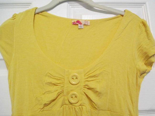 Forever 21 short dress yellow Beach Coverup on Tradesy