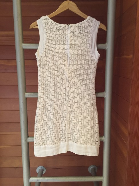 Haris Cotton short dress White on Tradesy