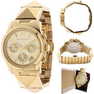 Michael Kors Michael Kors Runway Pyramid Chronograph Ladies Watch Mk5797