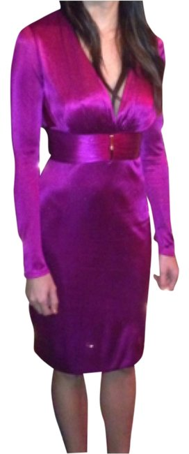 Preload https://item3.tradesy.com/images/versace-fusia-a1269-model-m7075-knee-length-cocktail-dress-size-2-xs-10414537-0-1.jpg?width=400&height=650
