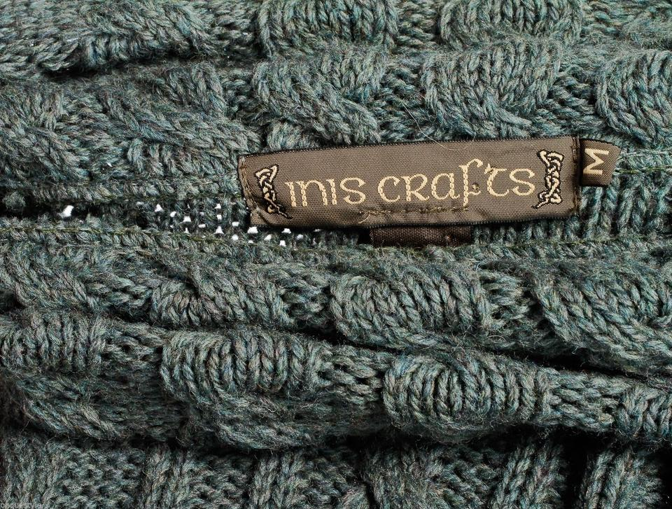 Inis crafts sweater green tops tradesy for Inis crafts sweater price