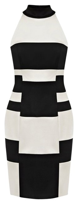 Preload https://item3.tradesy.com/images/karen-millen-black-and-white-signature-stretch-satin-above-knee-night-out-dress-size-8-m-10414957-0-2.jpg?width=400&height=650