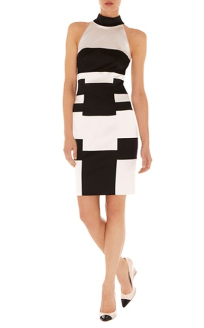 Karen Millen Signature Satin Evening Stretch Every Figure Dress