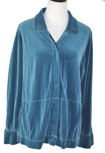 Preload https://img-static.tradesy.com/item/10415005/sonia-rykiel-blue-velour-loungewear-pants-suit-activewear-sportswear-size-16-xl-plus-0x-0-1-650-650.jpg