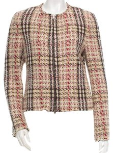 Burberry Beige Tan Black Beige, Multicolor Jacket