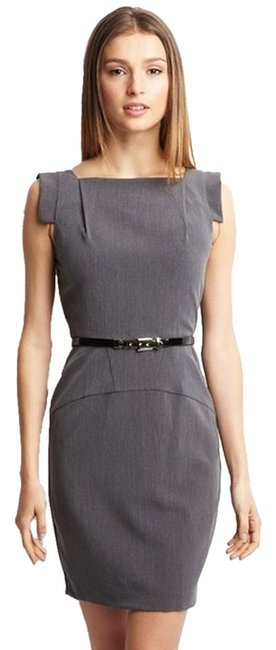 Preload https://item1.tradesy.com/images/single-cap-sleeve-square-neck-with-belt-knee-length-workoffice-dress-size-10-m-1041515-0-0.jpg?width=400&height=650