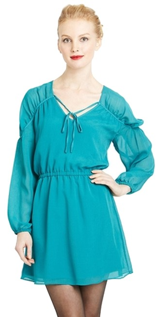Preload https://item4.tradesy.com/images/agata-teal-m-above-knee-short-casual-dress-size-8-m-1041518-0-0.jpg?width=400&height=650