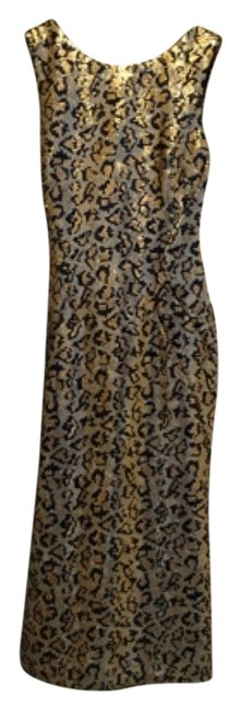 Preload https://item2.tradesy.com/images/zac-posen-sequins-animal-print-rare-knee-length-night-out-dress-size-4-s-10415971-0-1.jpg?width=400&height=650