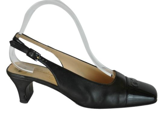 Preload https://item4.tradesy.com/images/salvatore-ferragamo-black-leather-patent-square-c-sandals-size-us-8-wide-c-d-10416028-0-1.jpg?width=440&height=440