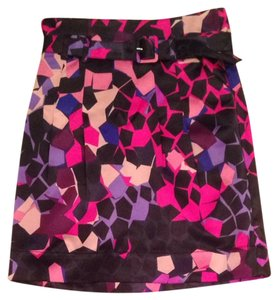 H&M Skirt Pink, Purple, Black, Blue, Tan