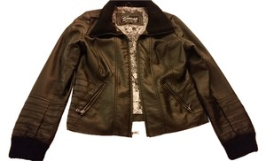 Guess Faux Leather Leather Jacket