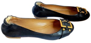 Chloé Leather Ballet Italian Black Flats