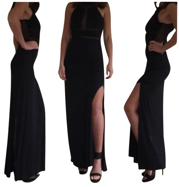 Preload https://item1.tradesy.com/images/solemio-blac-mesh-maxi-long-night-out-dress-size-8-m-10417495-0-1.jpg?width=400&height=650
