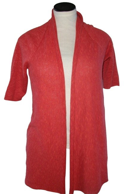 Preload https://img-static.tradesy.com/item/10417720/eileen-fisher-red-cardigan-size-petite-6-s-0-2-650-650.jpg