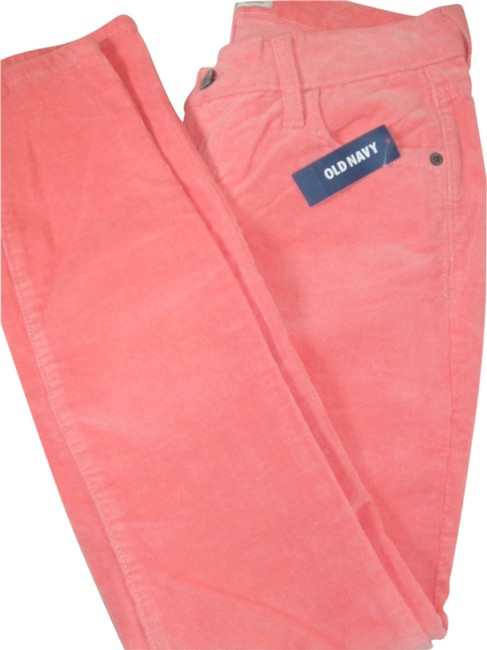 Preload https://item4.tradesy.com/images/old-navy-women-s-corduroys-skinny-cotton-pink-new-size-6-s-28-10417903-0-1.jpg?width=400&height=650