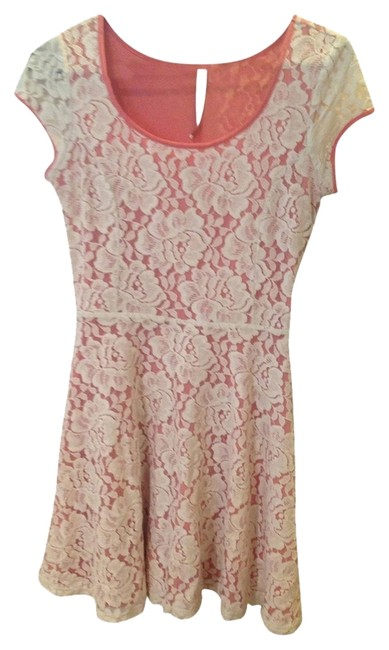 LC Lauren Conrad Pink Short Casual Dress Size 4 (S) LC Lauren Conrad Pink Short Casual Dress Size 4 (S) Image 1
