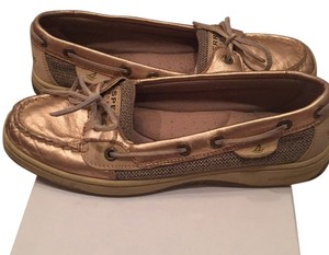 Sperry Rose gold Flats