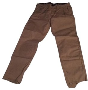 A|X Armani Exchange Straight Pants Tan