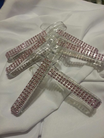 6 Bling Candy Buffet Tongs Pink