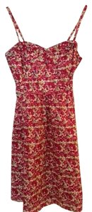 American Eagle Outfitters short dress Red floral pattern Ae America on Tradesy