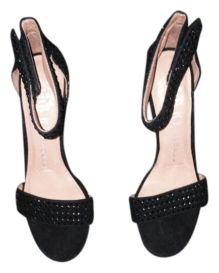 Jeffrey Campbell Black With Black Crystals Formal