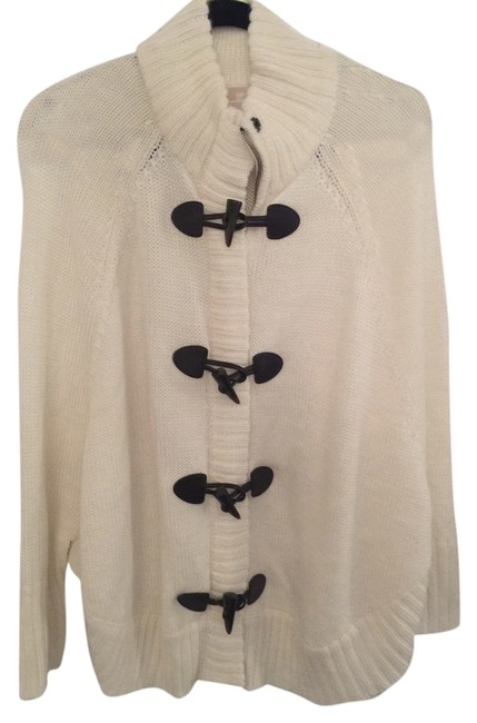 Preload https://item4.tradesy.com/images/michael-kors-cream-coat-ponchocape-size-8-m-10421458-0-2.jpg?width=400&height=650
