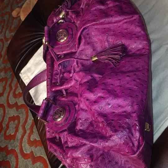 Victor Hugo Satchel in Purple