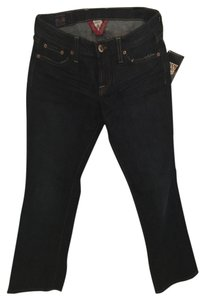 Lucky Brand Capri/Cropped Denim-Dark Rinse