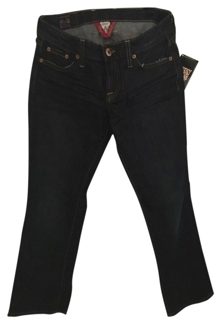 Preload https://item5.tradesy.com/images/lucky-brand-dark-rinse-capricropped-jeans-size-27-4-s-10421794-0-1.jpg?width=400&height=650
