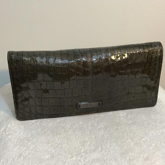 Cole Haan metallic Clutch