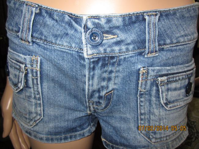 American Eagle Outfitters Unique Durable Funtional Vintage Cute Shorts Medium Washed Denim