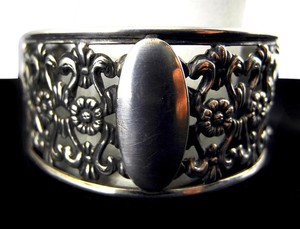 Industria Argentina Incredibly Beautiful Old Argentina Silver Bracelet-Excellent