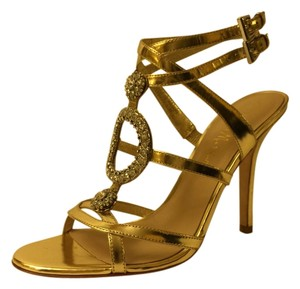 Marciano Strappy Night Out Gold Formal