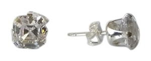 3.00 CTTW Asscher-Cut Cubic Zirconia Stud Earrings