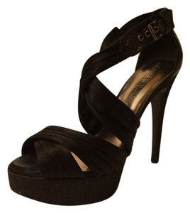 Marciano Strappy Sandals Heels Sexy Black Pumps