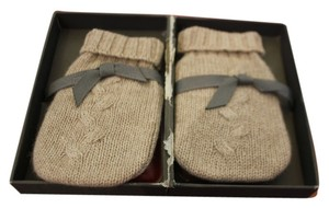 Restoration Hardware Mini Cashmere baby hand Warmers size 2 color Oatmeal very cute!