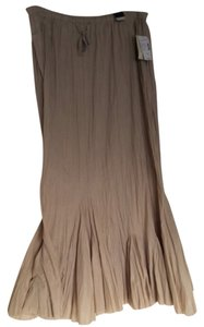 Lane Bryant Maxi Skirt Tan