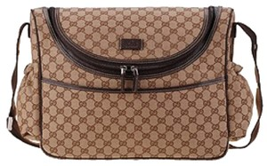 Gucci brown Diaper Bag