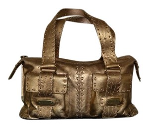 Michael Kors Satchel in ANTIQUE GOLD