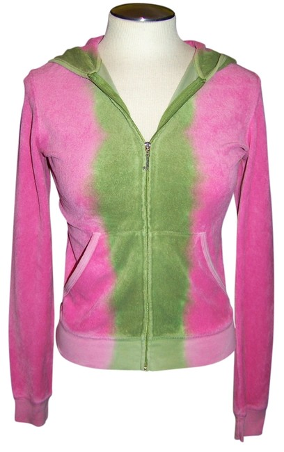 Preload https://item2.tradesy.com/images/juicy-couture-pink-green-hooded-ombre-full-zip-hoodie-1042566-0-0.jpg?width=400&height=650