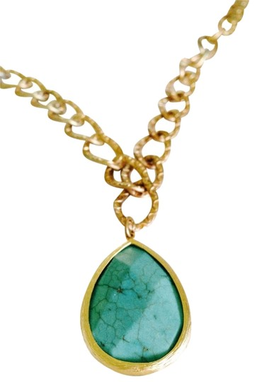 Other Beautiful Turquoise pendant on Gold Chain link