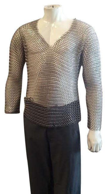 Preload https://item5.tradesy.com/images/stainless-steel-chainmail-night-out-top-size-os-one-size-1042649-0-0.jpg?width=400&height=650