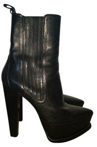 Alexander Wang Leather Platform black Boots