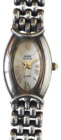 Anne Klein Sterling Silver chain watch