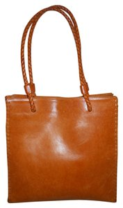 Cecconi Piero Leather Tote in tan