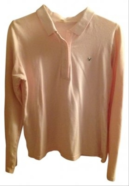 Preload https://item2.tradesy.com/images/american-eagle-outfitters-pink-long-sleeved-shirt-with-button-and-collar-sweaterpullover-size-14-l-104286-0-0.jpg?width=400&height=650
