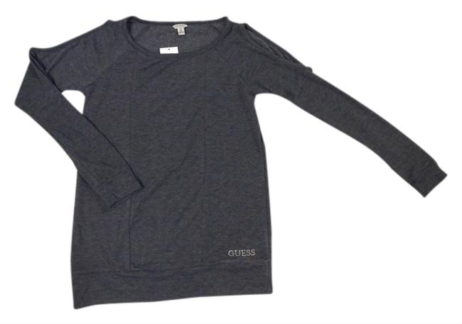Preload https://item2.tradesy.com/images/guess-gray-heather-sweaterpullover-size-4-s-10428931-0-1.jpg?width=400&height=650