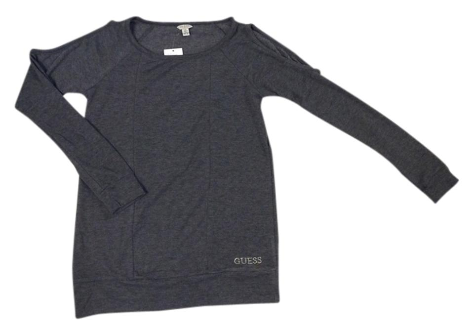 347e11207f4f38 Guess Gray Heather Sweater - Tradesy